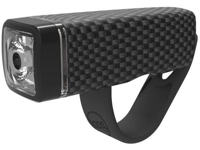 Knog POP i Koplamp witte LED, carbon